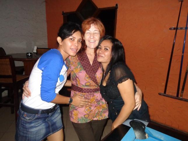 Kaz, Dina & Suzanne