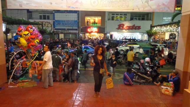 The crowds on Malioboro Street!
