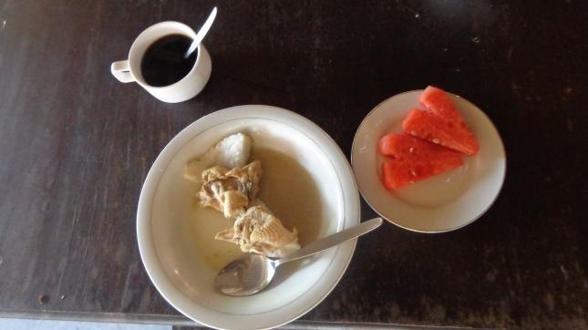 Breakfast in Jogja.