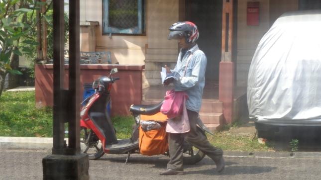 The local postman.