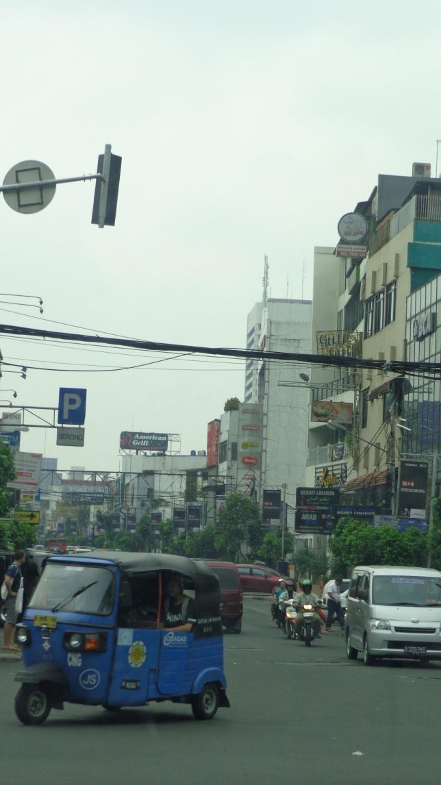 Trip through the city