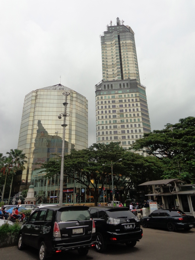 In the city of Karawaci